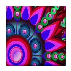 Abstract Digital Art  Face Towel
