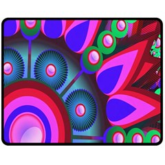 Abstract Digital Art  Fleece Blanket (Medium)