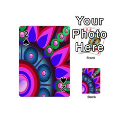 Abstract Digital Art  Playing Cards 54 (Mini)