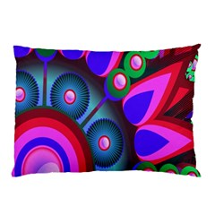 Abstract Digital Art  Pillow Case (Two Sides)