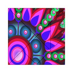 Abstract Digital Art  Acrylic Tangram Puzzle (6  x 6 )