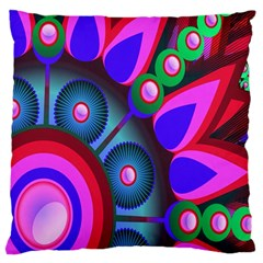 Abstract Digital Art  Large Cushion Case (Two Sides)
