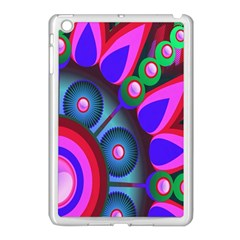 Abstract Digital Art  Apple iPad Mini Case (White)