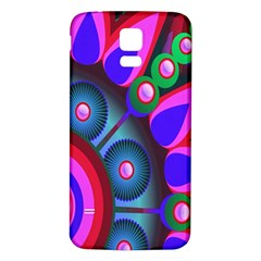 Abstract Digital Art  Samsung Galaxy S5 Back Case (white)