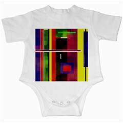 Abstract Art Geometric Background Infant Creepers
