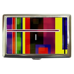 Abstract Art Geometric Background Cigarette Money Cases