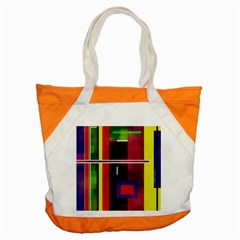Abstract Art Geometric Background Accent Tote Bag