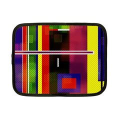 Abstract Art Geometric Background Netbook Case (Small)