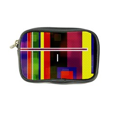 Abstract Art Geometric Background Coin Purse