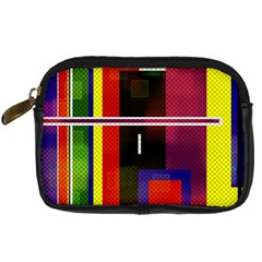 Abstract Art Geometric Background Digital Camera Cases