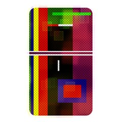 Abstract Art Geometric Background Memory Card Reader
