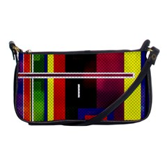 Abstract Art Geometric Background Shoulder Clutch Bags