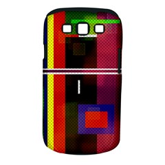 Abstract Art Geometric Background Samsung Galaxy S III Classic Hardshell Case (PC+Silicone)