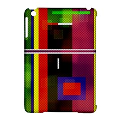 Abstract Art Geometric Background Apple Ipad Mini Hardshell Case (compatible With Smart Cover)
