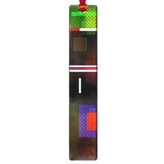 Abstract Art Geometric Background Large Book Marks