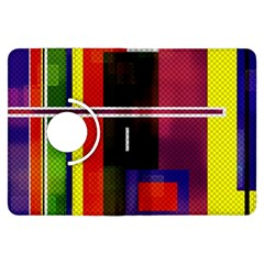 Abstract Art Geometric Background Kindle Fire HDX Flip 360 Case
