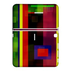Abstract Art Geometric Background Samsung Galaxy Tab 4 (10.1 ) Hardshell Case