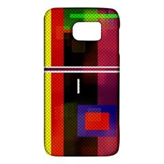 Abstract Art Geometric Background Galaxy S6