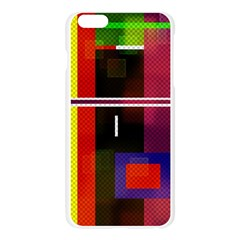 Abstract Art Geometric Background Apple Seamless iPhone 6 Plus/6S Plus Case (Transparent)