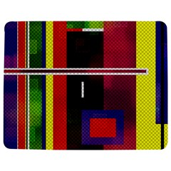 Abstract Art Geometric Background Jigsaw Puzzle Photo Stand (Rectangular)