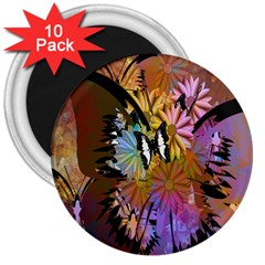 Abstract Digital Art 3  Magnets (10 pack)