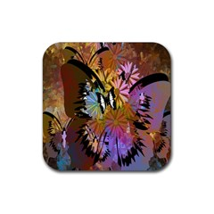 Abstract Digital Art Rubber Coaster (Square)