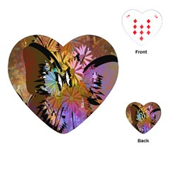 Abstract Digital Art Playing Cards (Heart)