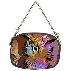 Abstract Digital Art Chain Purses (one Side)