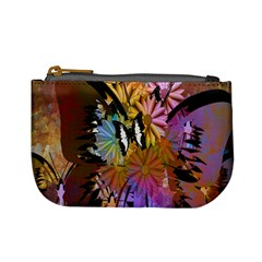 Abstract Digital Art Mini Coin Purses