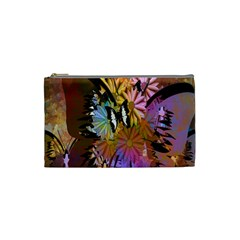 Abstract Digital Art Cosmetic Bag (Small)