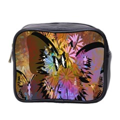 Abstract Digital Art Mini Toiletries Bag 2-Side