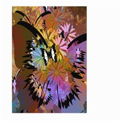 Abstract Digital Art Large Garden Flag (Two Sides)