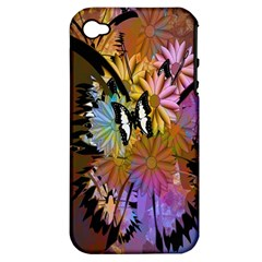 Abstract Digital Art Apple iPhone 4/4S Hardshell Case (PC+Silicone)