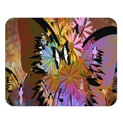Abstract Digital Art Double Sided Flano Blanket (Large)