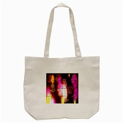 Abstract Background Design Squares Tote Bag (cream)