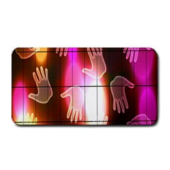 Abstract Background Design Squares Medium Bar Mats