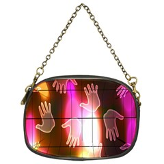 Abstract Background Design Squares Chain Purses (One Side)