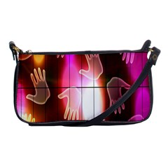 Abstract Background Design Squares Shoulder Clutch Bags
