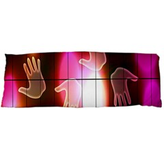 Abstract Background Design Squares Body Pillow Case Dakimakura (two Sides)