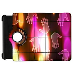 Abstract Background Design Squares Kindle Fire Hd 7