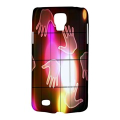 Abstract Background Design Squares Galaxy S4 Active