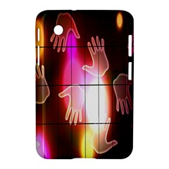 Abstract Background Design Squares Samsung Galaxy Tab 2 (7 ) P3100 Hardshell Case