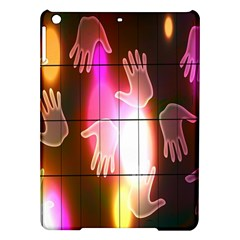 Abstract Background Design Squares Ipad Air Hardshell Cases