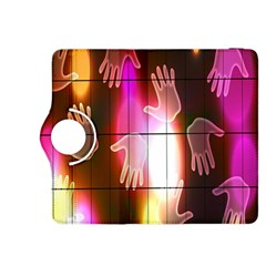 Abstract Background Design Squares Kindle Fire HDX 8.9  Flip 360 Case