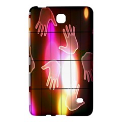 Abstract Background Design Squares Samsung Galaxy Tab 4 (7 ) Hardshell Case