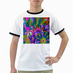 Abstract Digital Art  Ringer T-Shirts