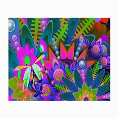 Abstract Digital Art  Small Glasses Cloth