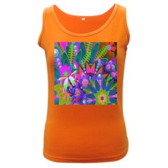 Abstract Digital Art  Women s Dark Tank Top