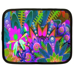 Abstract Digital Art  Netbook Case (Large)