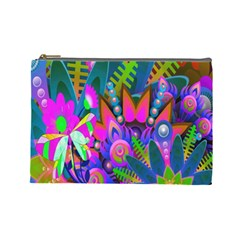 Abstract Digital Art  Cosmetic Bag (Large)